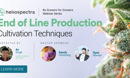 Webinar Series: End of Line Production Cultivation Techniques
