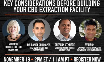 Vol. 2: Key Considerations Before Building Your CBD Extraction Facility